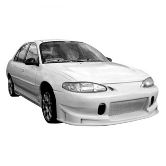 1997 ford escort body kits ground effects carid duraflex buddy style fiberglass front bumper cover unpainted fandeluxe Images
