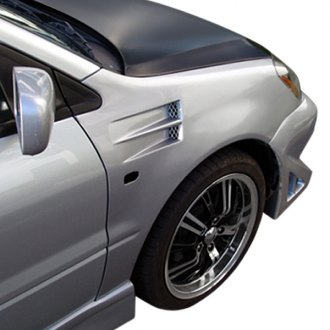 Duraflex® - X-2 Black Front Fender Vents