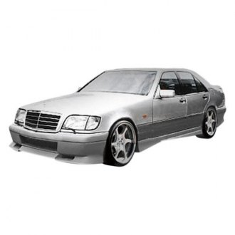 Duraflex® - VIP Style Fiberglass Side Skirt Rocker Panels (Unpainted)