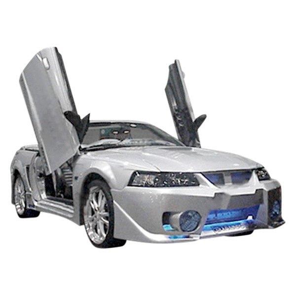 Duraflex® 103276 - Evo 5 Style Fiberglass Front Bumper Cover ...