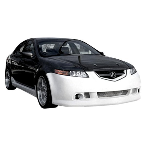 Duraflex Acura TL Base K Style Fiberglass Front And Rear - 2007 acura tl front bumper