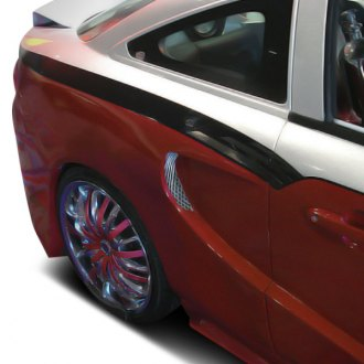 Duraflex® - SG Series Fiberglass Wide Body Rear Fenders (Unpainted)