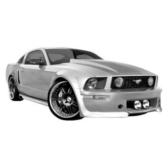 Duraflex® - Eleanor Style Fiberglass Front and Rear Bumper Covers (Unpainted)