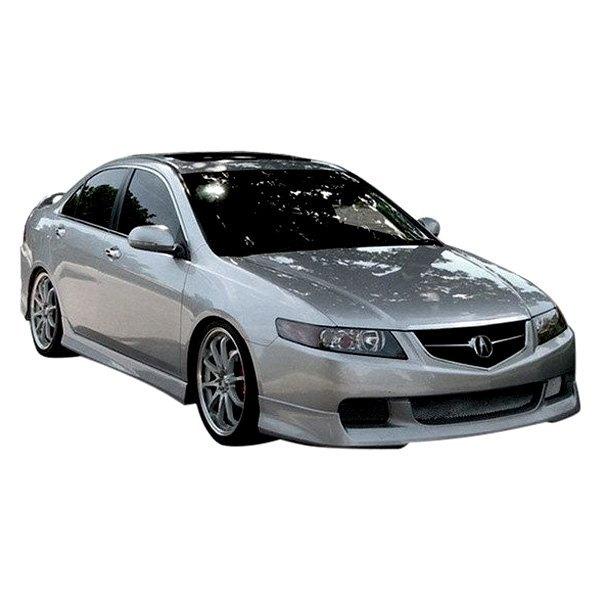 Duraflex Acura TSX JSpec Style Fiberglass Front And Rear - Acura tsx bumper