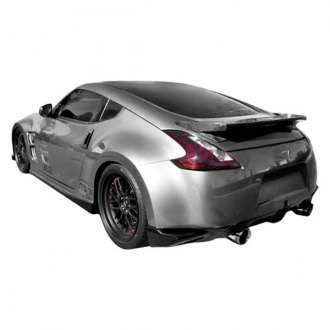 Duraflex® - N-1 Style Fiberglass Rear Add On Bumper Extensions (Unpainted)