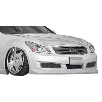 Infiniti G35 Bumper Lips | Air Dams, Splitters, Spoilers – CARiD com