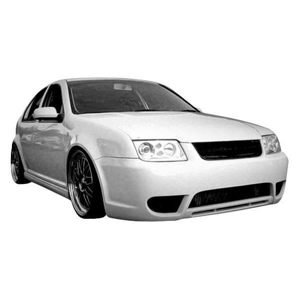 Duraflex® 105964 - Vortex Style Fiberglass Front Bumper Cover ...