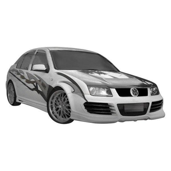 Duraflex® - Volkswagen Jetta Base / GL / GLS Sedan 2001 R8 Style ...