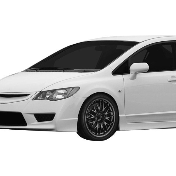 Honda Civic Camper Conversion >> Duraflex® 107741 - JDM Type R Style Fiberglass Conversion Front Fenders (Unpainted)