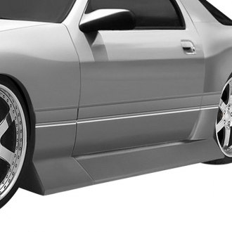 Duraflex® - B-Sport Style Fiberglass Wide Body Side Skirt Rocker Panels (Unpainted)