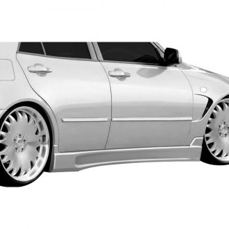 Duraflex® - C-Speed Style Fiberglass Side Skirt Rocker Panels (Unpainted)