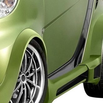 Duraflex® - GT300 Style Fiberglass Wide Body Side Skirt Rocker Panels (Unpainted)