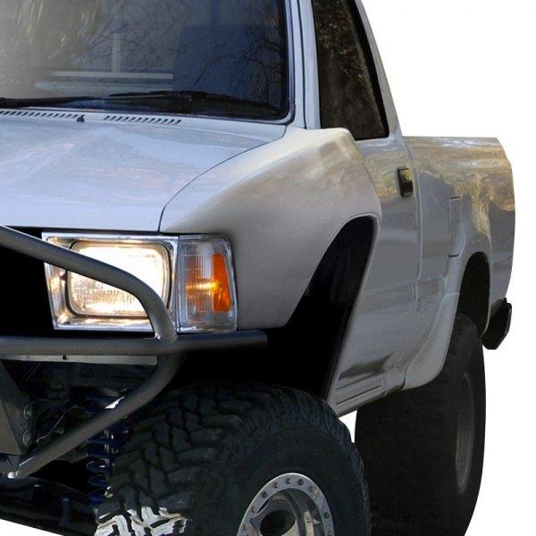 Duraflex® 108878 - Bulge Style Fiberglass Front Fenders (Unpainted)