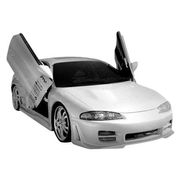1999 Mitsubishi Eclipse Exterior: Mitsubishi Eclipse Base / GS / GSX 1997-1999