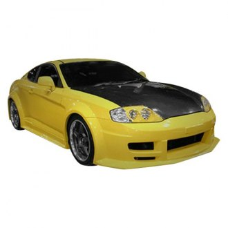 Duraflex® - Poison Flared Style Fiberglass Body Kit (Unpainted)