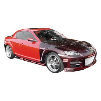 Duraflex® - GT Competition Style Fiberglass Body Kit (Unpainted)