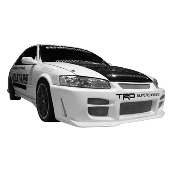 Toyota Celica 1994 1999 Invader Front Bumper: Toyota Camry CE / LE / XLE 1997 R34 Style