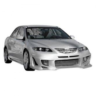 Passgenaue Tönungsfolie Mazda 6 Kombi Bj 2005-2007 Black 95