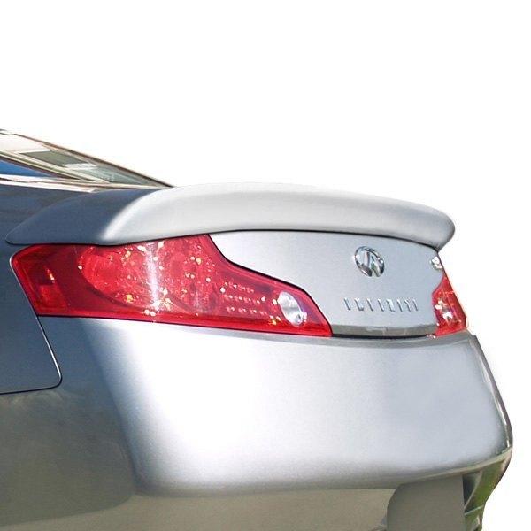 Duraflex 112745 Downforce Style Fiberglass Rear Lip Spoiler Unpainted