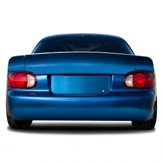 Duraflex® - Monster Style Fiberglass Rear Lip Spoiler (Unpainted)