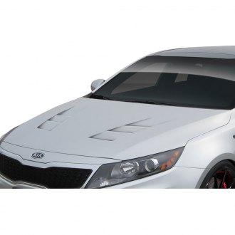 2014 Kia Optima Custom Hoods | Carbon Fiber, Fiberglass — CARiD com