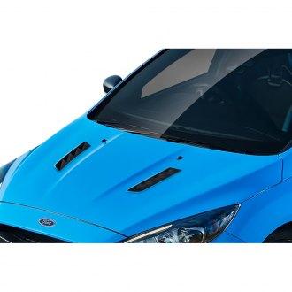 2017 Ford Focus Custom Hoods Carbon Fiber Fiberglass