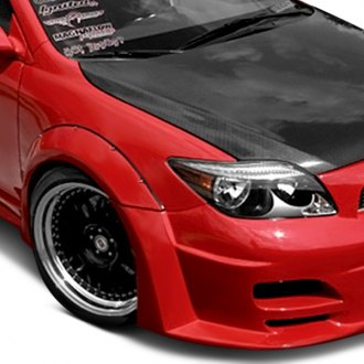 Duraflex® - Touring Style Wide Body Fiberglass Front and Rear Fender Flares (Unpainted)