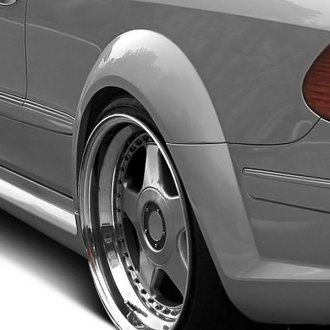 Duraflex® - Black Series Style Wide Body Fiberglass Rear Fender Flares (Unpainted)