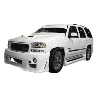 Duraflex® - Platinum Style Fiberglass Side Skirts Rocker Panels (Unpainted)