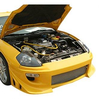 duraflex blits style fiberglass body kit unpainted - Custom 2000 Mitsubishi Eclipse