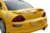 Image may not reflect your exact vehicle! Duraflex® - Blits Style Fiberglass Rear Bumper Cover (Unpainted)
