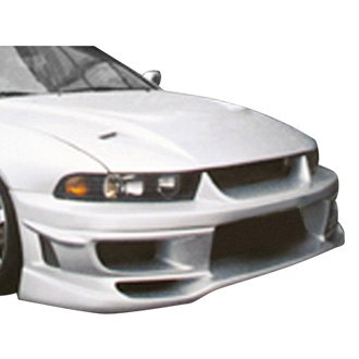 duraflex cyber style fiberglass front bumper cover unpainted - Mitsubishi Galant 2002 Body Kit
