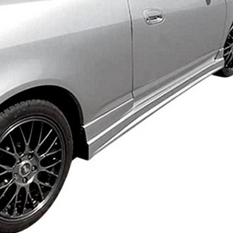 Duraflex® - C-1 Style Fiberglass Side Skirts Rocker Panels (Unpainted)