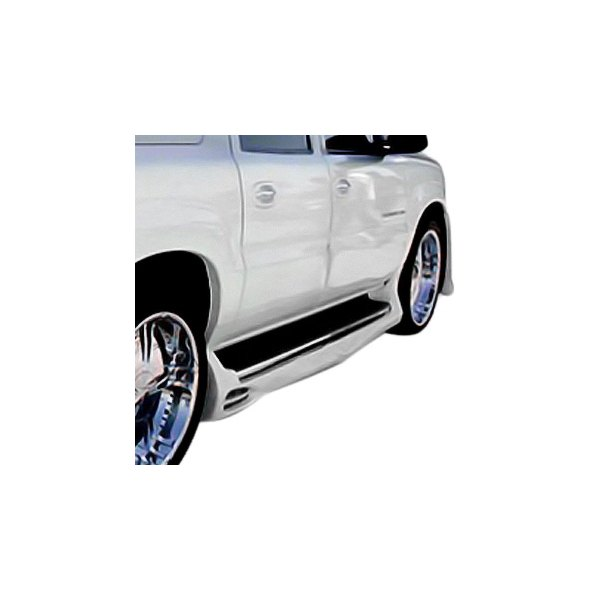 Image may not reflect your exact vehicle! Duraflex® - Platinum Style Fiberglass Side Skirts Rocker Panels (Unpainted)