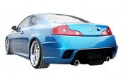 Image may not reflect your exact vehicle! Duraflex® - K-1 Style Fiberglass Rear Bumper Cover (Unpainted)