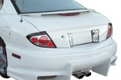 Image may not reflect your exact vehicle! Duraflex® - Bomber Style Fiberglass Rear Bumper Cover (Unpainted)