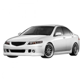 Duraflex® - K-1 Style Fiberglass Side Skirts Rocker Panels (Unpainted)