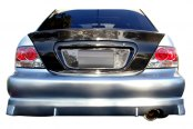 Image may not reflect your exact vehicle! Duraflex® - Walker Style Fiberglass Rear Bumper Cover (Unpainted)