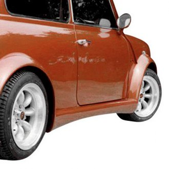 Duraflex® - Type Z Style Wide Body Front and Rear Fender Flares (Unpainted)