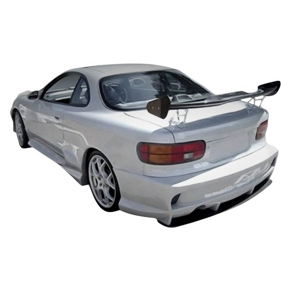 Image may not reflect your exact vehicle! Duraflex® - Vader 2 Style Fiberglass Rear Bumper Cover (Unpainted)