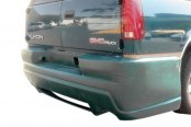 Image may not reflect your exact vehicle! Duraflex® - Platinum 2 Style Fiberglass Rear Bumper Cover (Unpainted)