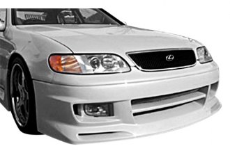 Image may not reflect your exact vehicle! Duraflex® - AG Style Fiberglass Front Bumper Cover (Unpainted)