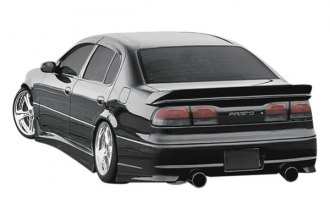 Image may not reflect your exact vehicle! Duraflex® - AG Style Fiberglass Rear Bumper Cover (Unpainted)