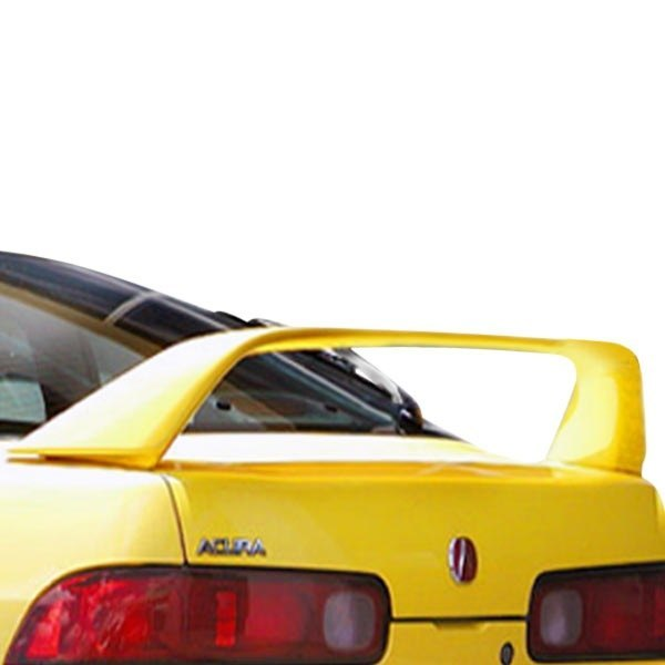 Image may not reflect your exact vehicle! Duraflex® - Type R Style Fiberglass Rear Wing Spoiler (Unpainted)