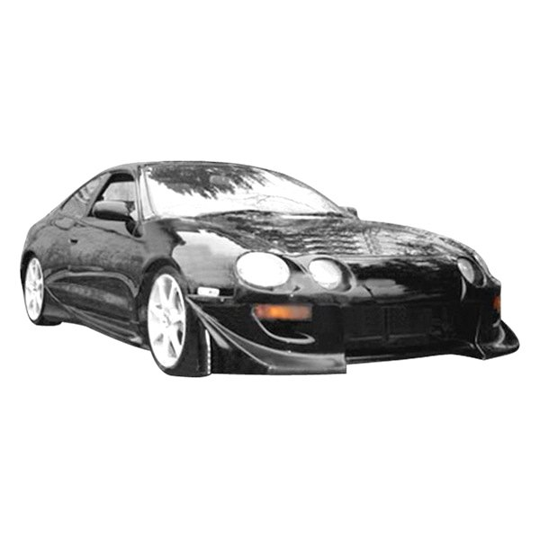 Image may not reflect your exact vehicle! Duraflex® - Blits Style Fiberglass Front Bumper Cover (Unpainted)