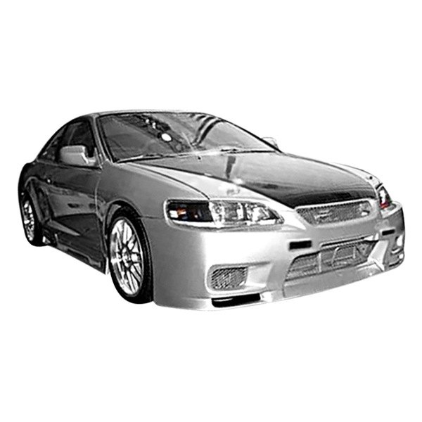 Image may not reflect your exact vehicle! Duraflex® - R33 Style Fiberglass Front Bumper Cover (Unpainted)
