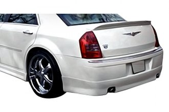 Image may not reflect your exact vehicle! Duraflex® - Elegante Style Fiberglass Rear Lip Under Spoiler Air Dam (Unpainted)