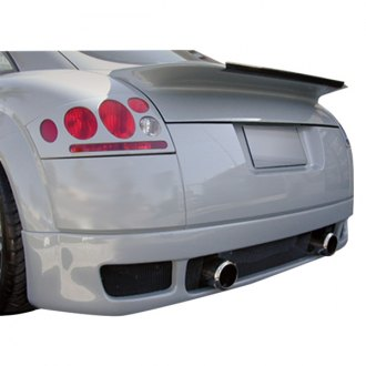 Duraflex® - R-1 Style Fiberglass Rear Lip Under Spoiler Air Dam (Unpainted)