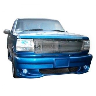 bumper 1995 ford front cover fiberglass lightning bumpers style duraflex custom unpainted valances carid