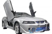 Image may not reflect your exact vehicle! Duraflex® - Evo 5 Style Fiberglass Front Bumper Cover (Unpainted)